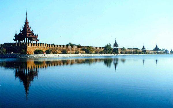 Exterior of Mandalay Palace